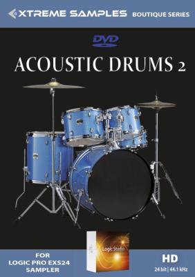 Xtreme Samples Boutique Acoustic Drums 2 | | Logic Pro